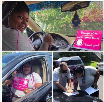 SINGLE MOM OF 6 INCLUDING ONE WITH TRAUMATIC BRAIN INJURY WINS A CAR FROM BK!