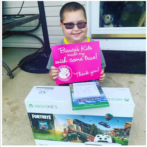Surprise Knock & Drop Wish Granted for sweet little guy with rare condition. Meet Thomas.