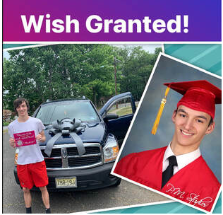 WISH GRANTED – Orphaned teen caring for younger brother gets much needed SUV from Bianca's Kids. Meet today's wish recipient Brandon Anderberg.