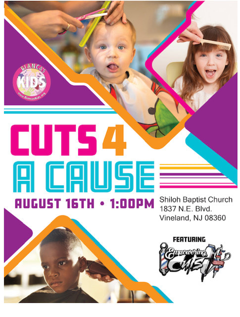 Cuts 4 Causes August 16th at 1:00 pm in Vineland, NJ