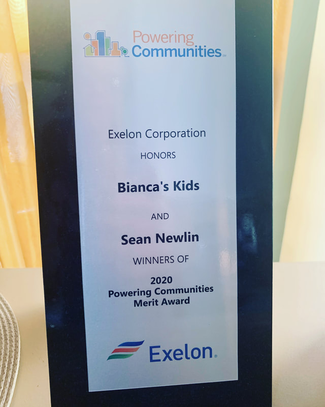 "Bianca's Kids Receives the 2020 ""Powering Communities Merit Award"""