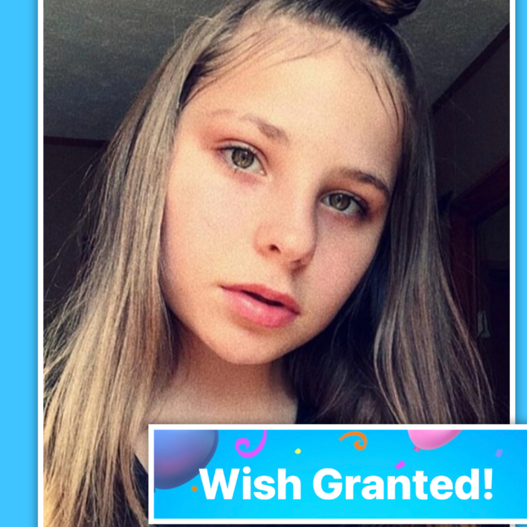 WISH GRANTED for teen with Autism & VSD struggling with isolation. Meet Hannah.