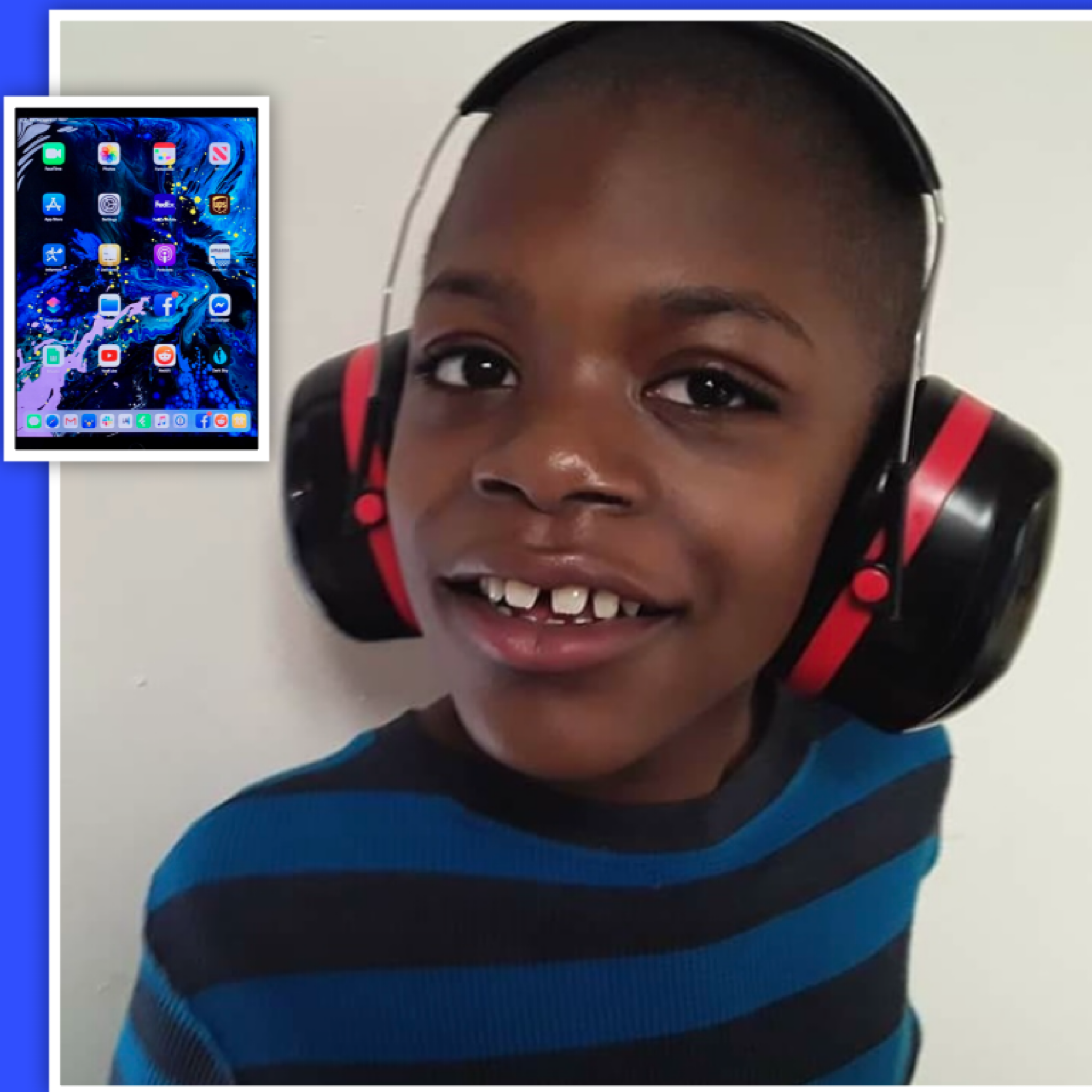 ⭐️Nonverbal child with Autism gets the gift of communication. Wish granted for Michael! ⭐️