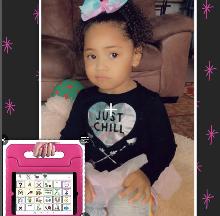 ⭐️3 YEAR OLD NONVERBAL CHILD RECEIVES GIFT OF COMMUNICATION. Meet today's wish revipient – Olivia.⭐️